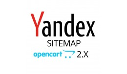 Yandex Sitemap Module for OpenCart 2 and 3