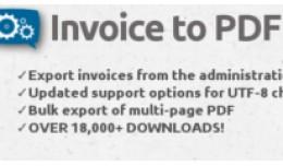 Invoice to PDF