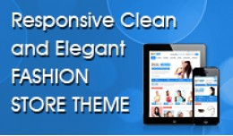 Responsive Clean and Elegant Fashion Store Templ..