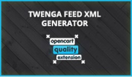Twenga Autogenerator Dynamic Feed XML Opencart E..