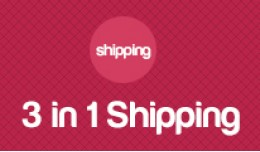 3 in 1 shipping method