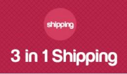 3 in 1 shipping method