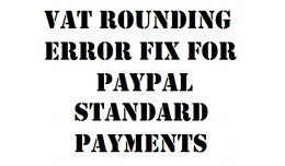 PayPal Rounding Fix for VAT