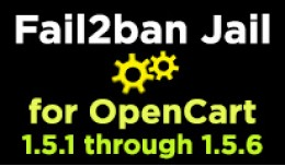 Fail2Ban Jail for OpenCart