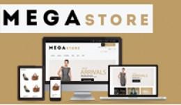 Opencart theme Mega Store