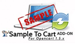 Sample To Cart ADD ON Sync Quantities
