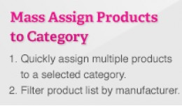 Mass Assign Products to Category