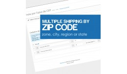 Multi Flat Rate By Zip Code