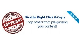 Disable Right Click & Copy
