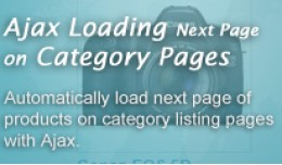Ajax Loading Next Page on Category Page
