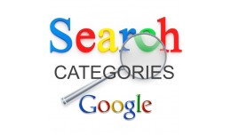 Google Image search for categories