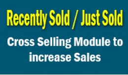 Cross Selling Modules - Just Sold, Latest PRO, B..