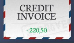 Credit Invoice