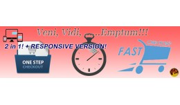 ONE PAGE QUICK (FAST) CHECKOUT PRO v.5.6 + Respo..