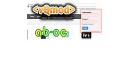 Quick Login - multilanguage - vqmod