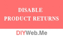 Disable Product Returns