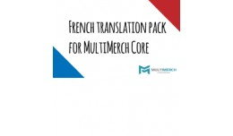 French Translation Pack for MultiMerch Core