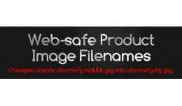 Web-safe Product Image Filenames