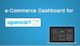 e-Commerce Dashboard for OpenCart