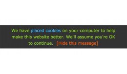 Simple Cookie EU Directive