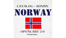 Norsk språk/Norwegian Language Pack OC2xx Butik..