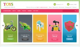TOYS - Cute Responsive OpenCart Template