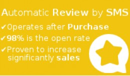 ✔ Automatic Product Review by SMS–After purc..
