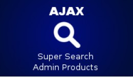 *NEW* AJAX Super Search For Admin Product List