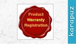 Product Warranty Registration