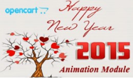 opencart new year animation