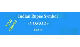 Indian Rupee Symbol (VQMOD)