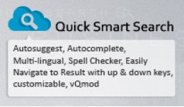 Quick Smart Search (Instant , Autosuggest , Auto..