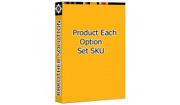 Product Each Option SKU