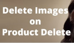 Delete Images on Product Delete