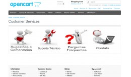 Customer Service Page