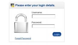 Forgot Password for Admin