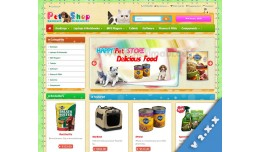 a Pet shop - Colorful Pet Store
