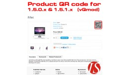 Product QR Code for 1.5.x.x (vQmod)