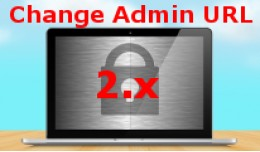 Change Admin URL 2.x