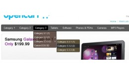 TLM - 2 Level Category Drop-down menu (VQmod req..