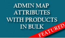 Admin Product Attributes management in bulks AJA..
