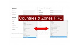 Countries & Zones PRO translator [vQmod]