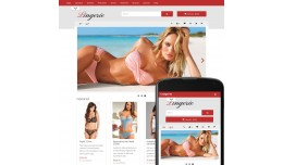 OpenCart 2 Theme Forest Lingerie Ruby