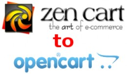 Zen Cart to Opencart