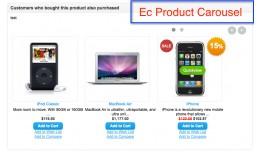 Products Carousel - Customers who bought also bo..