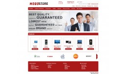 mobo OpenCart Template with banners