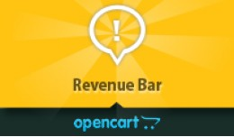 OpenCart Revenue Bar