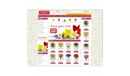Opencart 1.5x Flower Template