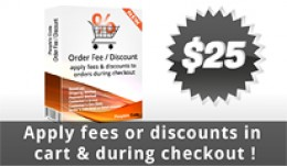 Discount/Fee based on Amount, Group, GeoZone, Sh..