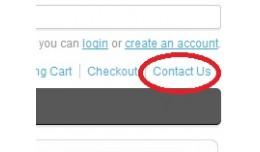 VQMOD Contact in header links